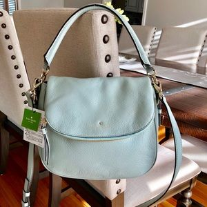 KATE SPADE Pastel Mint Green Crossbody Handbag